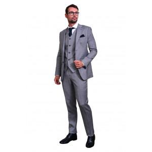 Maatpak cashmere licht grijs Cashmere